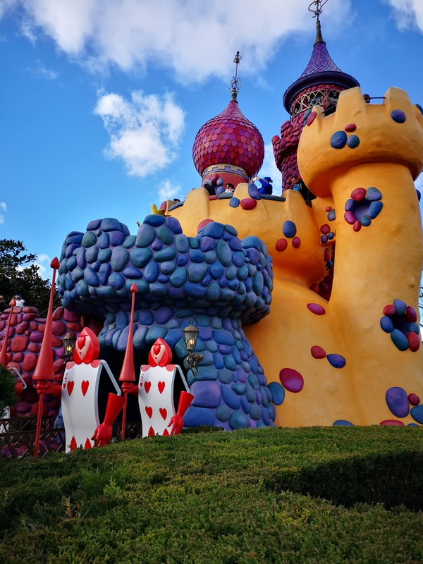 Alice im Wunderland's Labyrinth