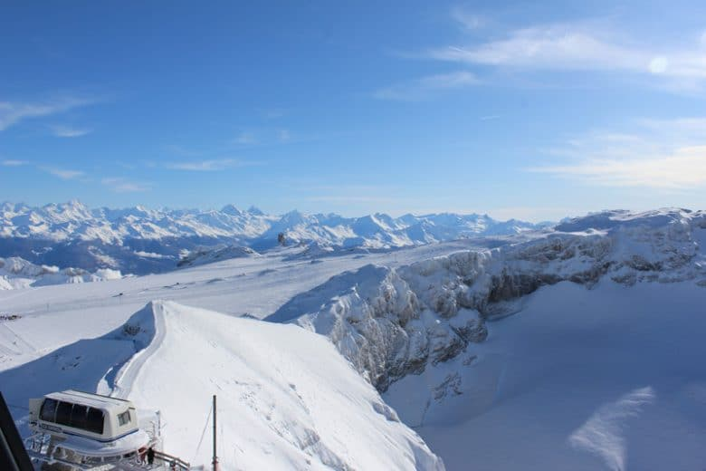 Family Day trip to Glacier 3000 - Les Diablerets