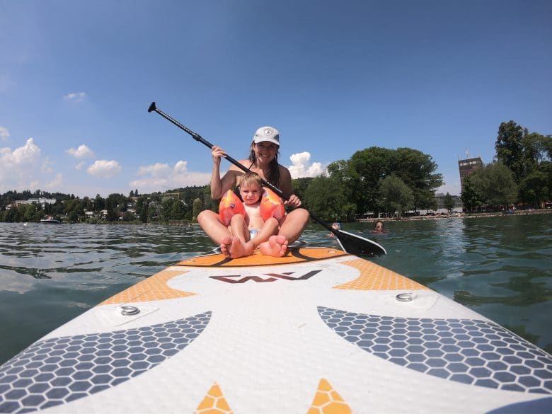 Top Spots Stand Up Paddle Switzerland