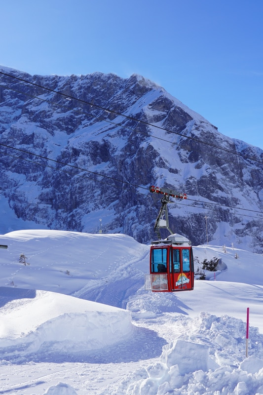 Winterwandern auf dem Fuerenalp