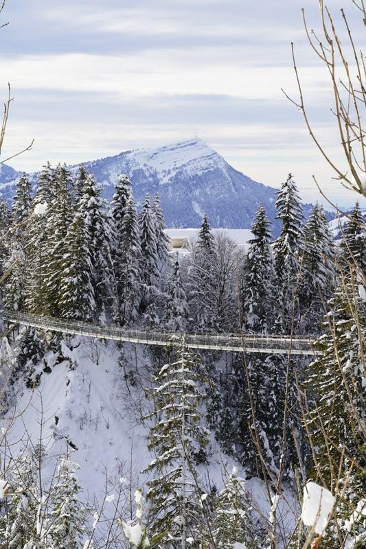 Winterwanderweg Engelstock - Sattel